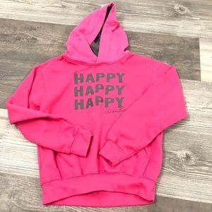 Duck Commander Happy Happy Happy Pink Sweatshirt M